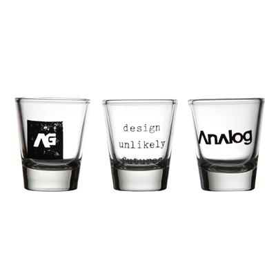 Analog Salute Shot Glasses - 3 Pack