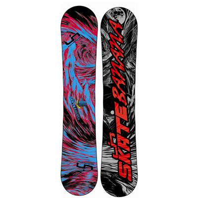 Lib Tech Skate Banana BTX (Red/Blue) Narrow Snowboard 2013