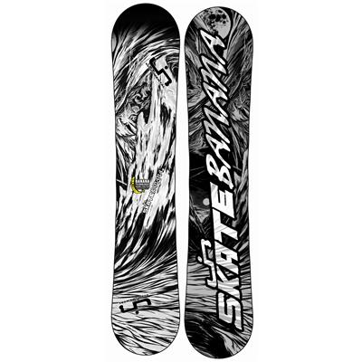 Lib Tech Skate Banana BTX (Black/White) Snowboard 2013