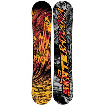 Lib Tech Skate Banana BTX (Red/Orange) Narrow Snowboard 2013