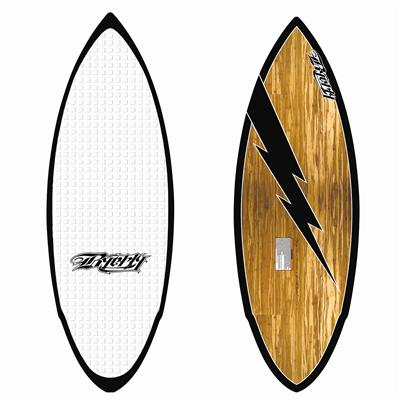 Byerly Wakeboards Hazard Wakesurf Board - Blem 2012