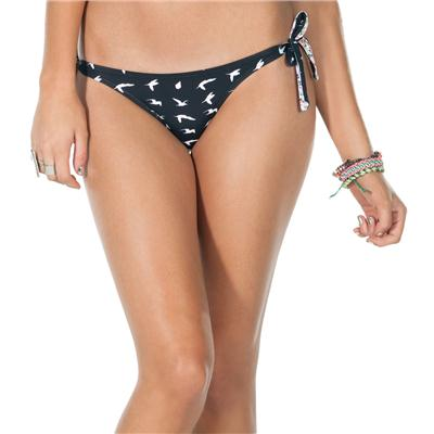Volcom Stephanie Cherry Cozi Tie Side Full Bikini Bottoms - Women's