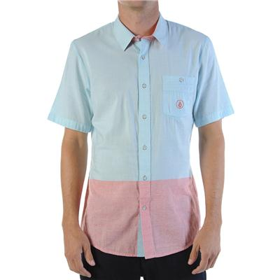Volcom Bank Lock Short Sleeve Button Down Shirt