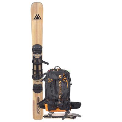 MTN Approach Skis & Backpack 2015