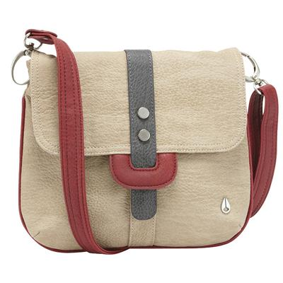 Nixon Matte Nickle Trim Finish Cross Body Purse - Women's