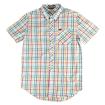 Kr3w Silence Short-Sleeve Button-Down Shirt
