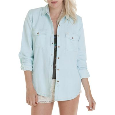 Obey Clothing Rusted Button-Down Shirt - Women's