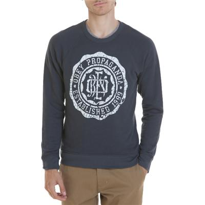 Obey Clothing College Crest Crew Neck Sweatshirt