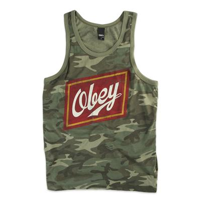 Obey Clothing Malt Liquor Tank Top