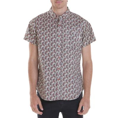 Obey Clothing Chelsea Short-Sleeve Button-Down Shirt