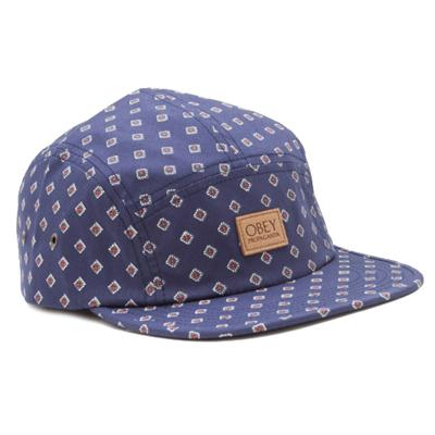 Obey Clothing Stately 5 Panel Hat