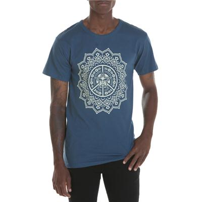 Obey Clothing Flower Of Peace T-Shirt