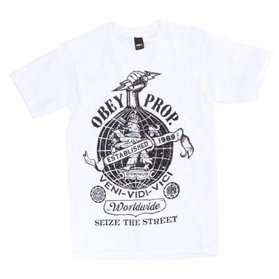 Obey Clothing Globe Fist T-Shirt