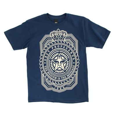 Obey Clothing Medium Is The Message T-Shirt