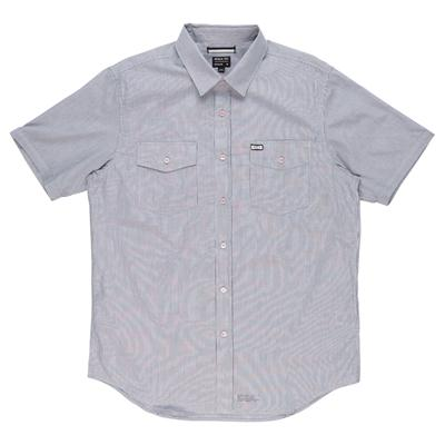 RVCA Credence Short-Sleeve Button-Down Shirt