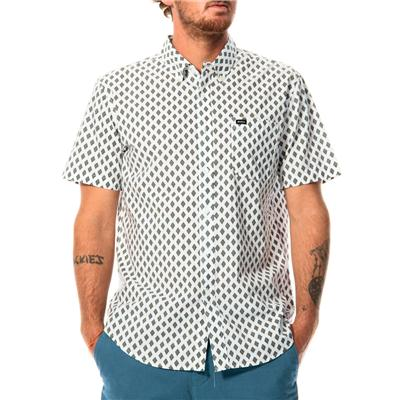 RVCA Falling Short-Sleeve Button-Down Shirt