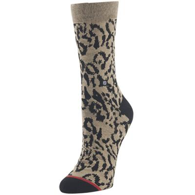 Stance Cheetah Crew Socks - Women's