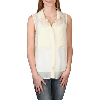 Quiksilver Crusher Sleeveless Button-Up Shirt - Women's