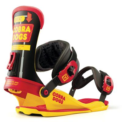 Union Cobra Dogs Snowboard Bindings 2013