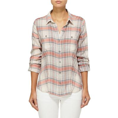 Quiksilver Sunny Day Plaid Button Down Shirt - Women's