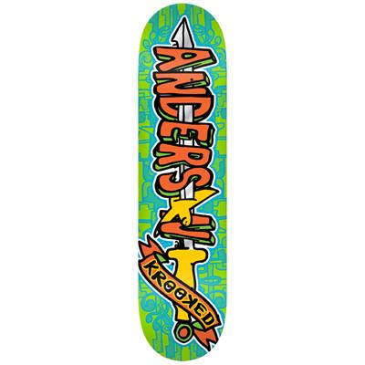 Krooked Swordid Anderson Skateboard Deck