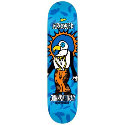 Krooked John Rattray Guest Board Skateboard Deck