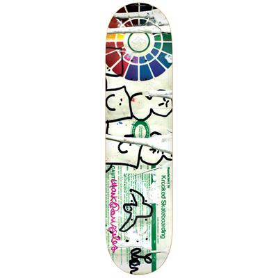 Krooked Gonz Lead Free Skateboard Deck