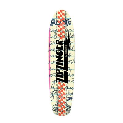 Krooked Zip Zinger 2 Kool 4 Skool Skateboard Deck