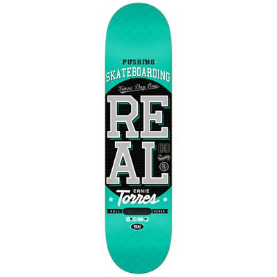 Real Pushing Skateboarding Torres Skateboard Deck