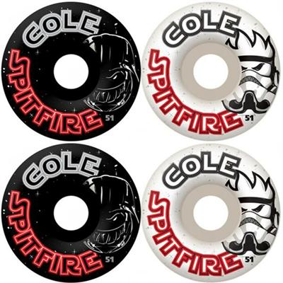 Spitfire Chris Cole Darkside Mashup Skateboard Wheels
