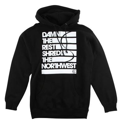 Casual Industrees Damn The Rest Hoodie