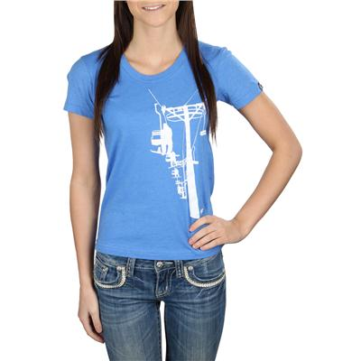 Casual Industrees Chairlift Crew Neck T Shirt - Women's