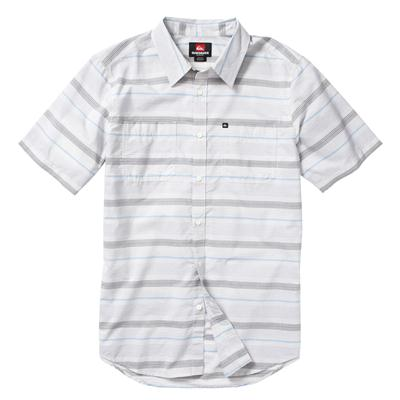 Quiksilver Booked Tickets Short-Sleeve Button-Down Shirt