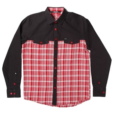 Makia Combination Button-Down Shirt