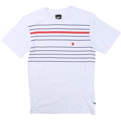 Makia Printed Stripe T-Shirt