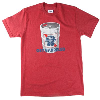 O'Neill PBR Get Barreled T-Shirt