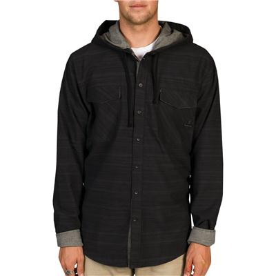 Billabong Spade Button Down Hoodie