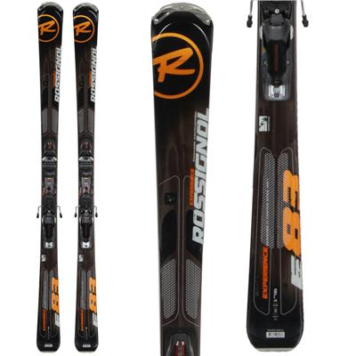 Rossignol Experience 83 Skis + Axial 2 Speedset Bindings - Used 2013