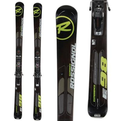 Rossignol Experience 98 Skis + Axial 2 Speedset Bindings - Used 2013