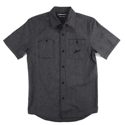 The Hundreds Dahlia Short Sleeve Button Down Shirt