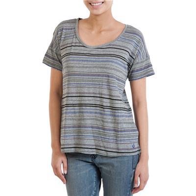 Volcom Pop Strype T-Shirt - Women's