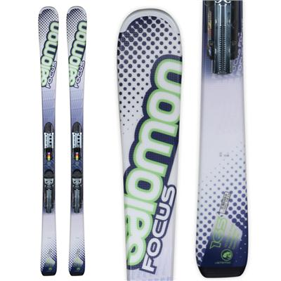 Salomon X-Wing Focus Skis + Z10 Bindings 2012