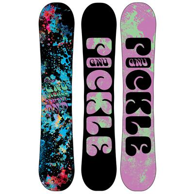 GNU Ladies Pickle PBTX Snowboard - Blem - Women's 2013