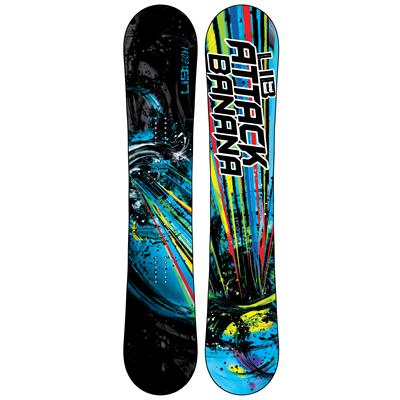 Lib Tech Attack Banana EC2BTX Wide Snowboard - Blem 2013