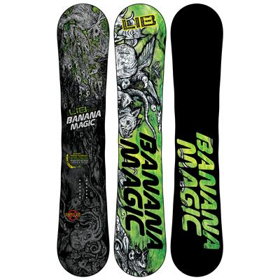 Lib Tech Banana Magic Enhanced BTX Wide Snowboard - Blem 2013