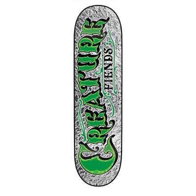 Creature Mirrorz XS Mini Skateboard Deck - Kid's
