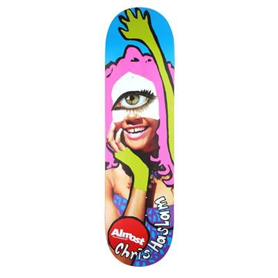 Almost Haslam Baby Doll Skateboard Deck