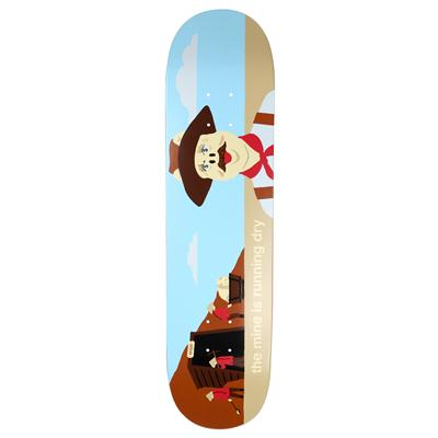 Enjoi Gold Mine Skateboard Deck