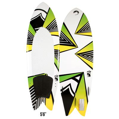 Liquid Force Fish Wakesurf Board w/ Handle 2013