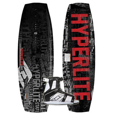 Hyperlite State Jr Wakeboard + Remix Bindings - Boy's 2013